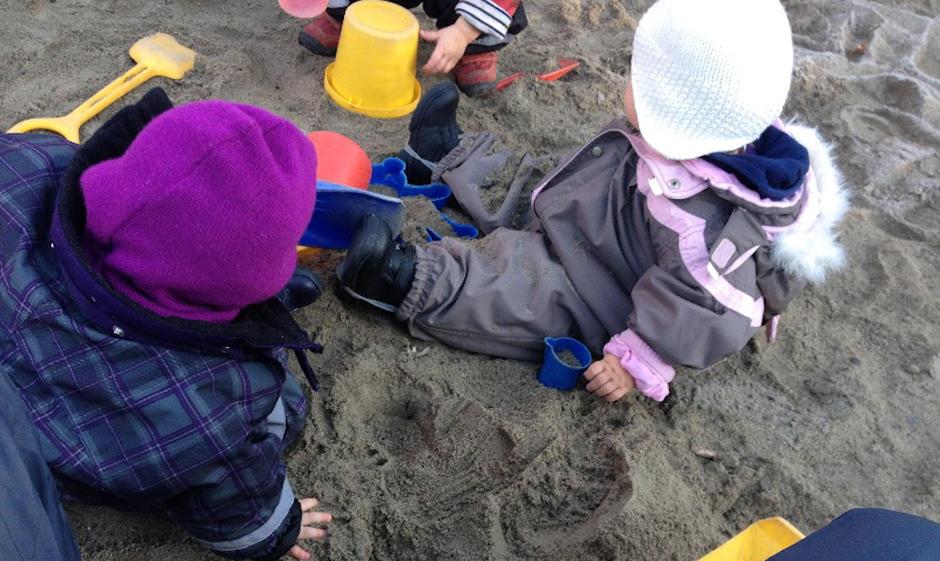 Gaustadsnippen Barnehage - utebilde